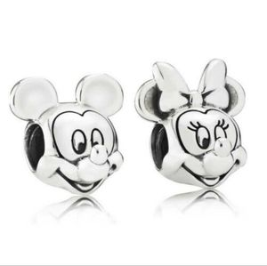 Mickey and Minnie Pandora Charm